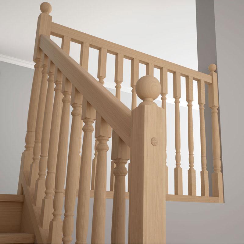 escaliers en bois l 39 authentique escaliers magnin. Black Bedroom Furniture Sets. Home Design Ideas