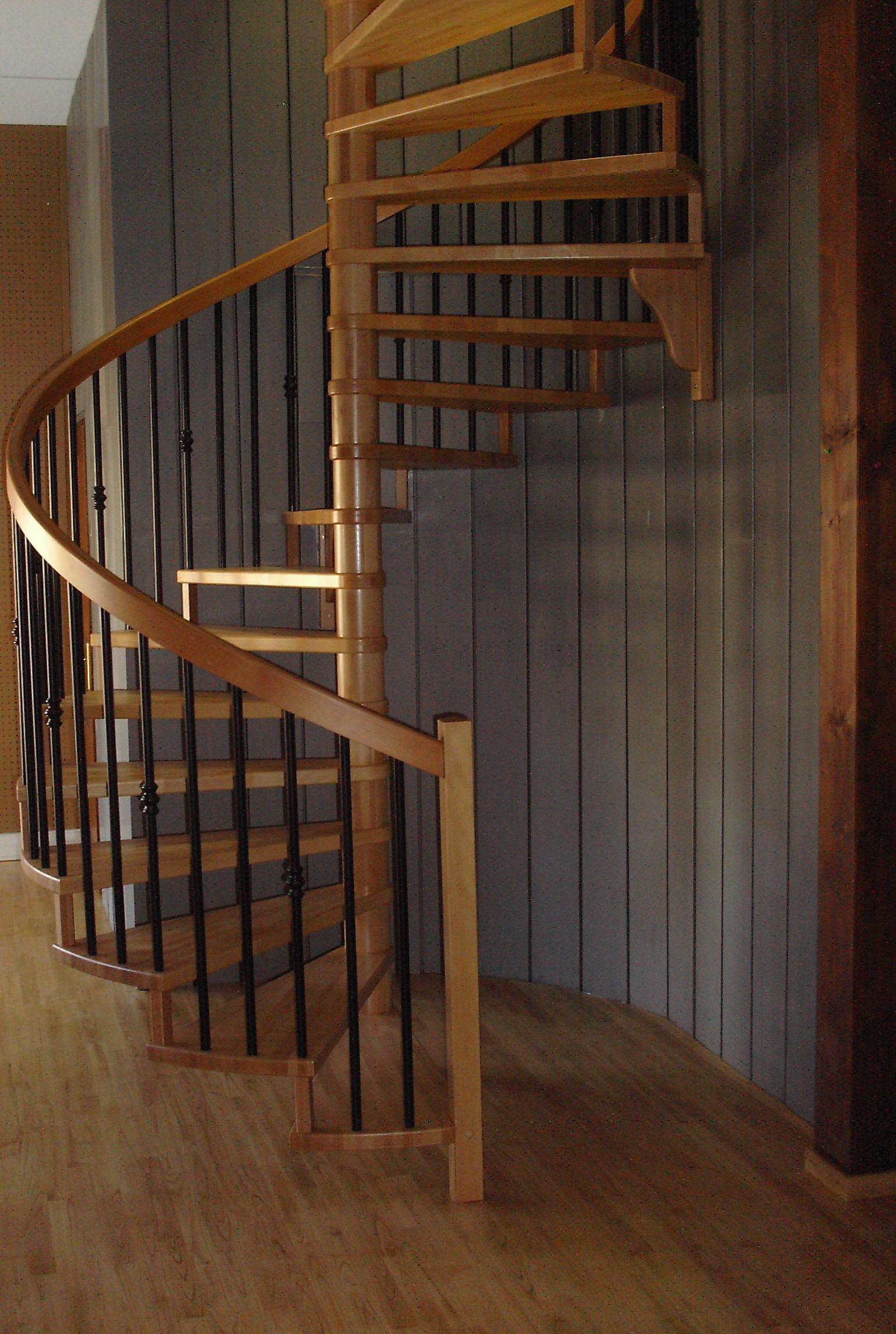 escaliers magnin escalier h lico dal circulaire. Black Bedroom Furniture Sets. Home Design Ideas