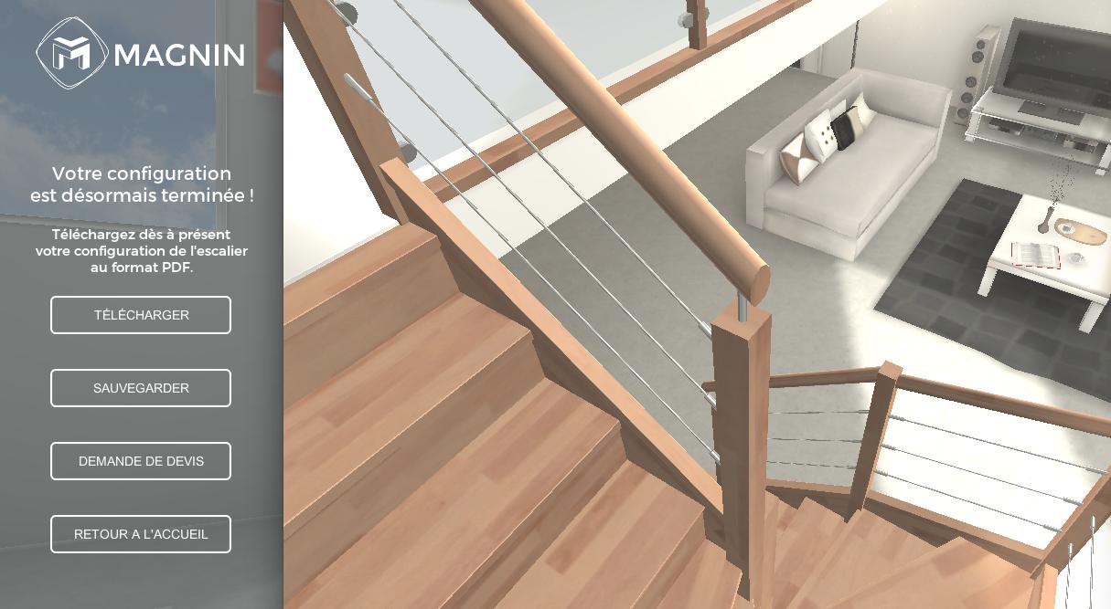 escaliers magnin fabricant d 39 escaliers en bois sur mesure et m tal. Black Bedroom Furniture Sets. Home Design Ideas