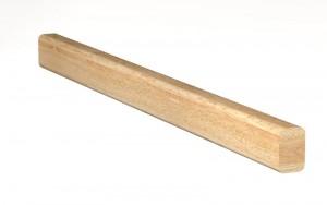 Main courante MC1 - Droite : 70 mm x 46 mm avec deux arrondis 12,5 mm