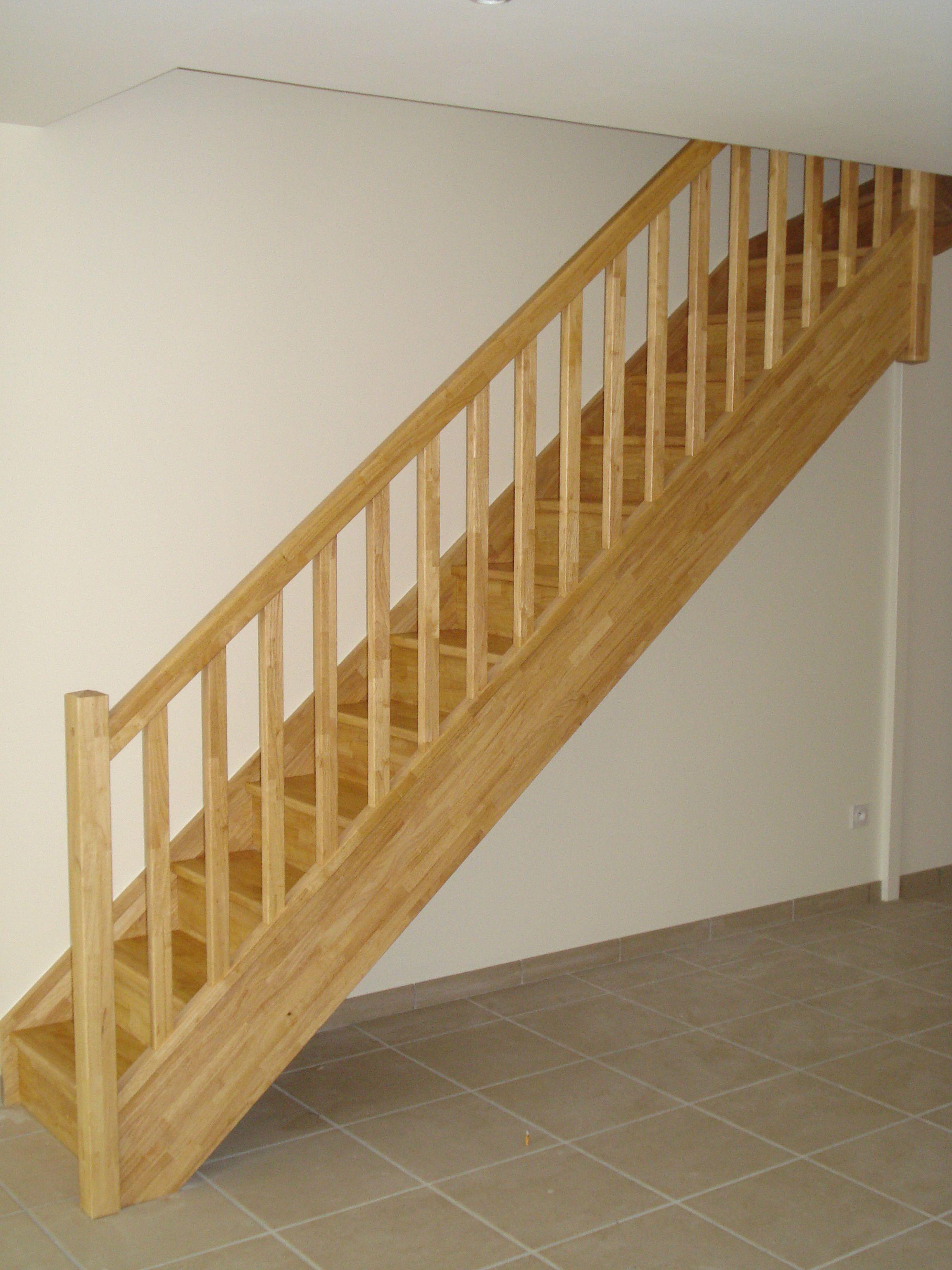 Peinture Pour Escalier Bois escaliers magnin - escalier 1/4 tournant haut vt avec