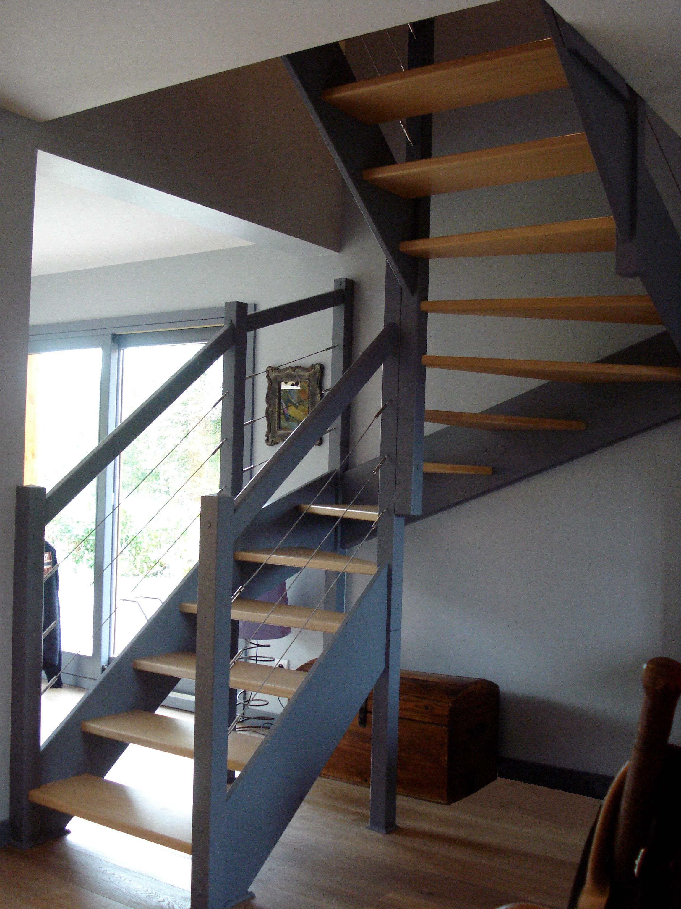 Escaliers Magnin Escalier 2 4 Tournant Vttv Sans Contremarche